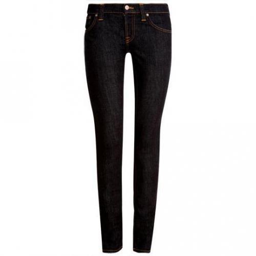 Nudie - Slim Modell Tight Long John Denim Stretch Farbe Blau