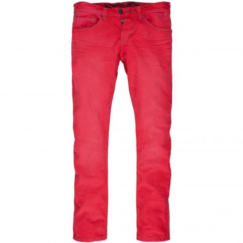 one green elephant Herren Coloured-Jeans Chico 1340 Rot