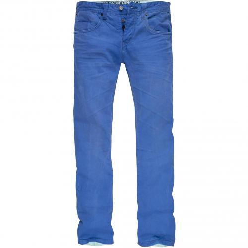 one green elephant Herren Jeans Columbus Blau