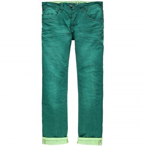 one green elephant Herren Jeans Columbus Smaragd Grün