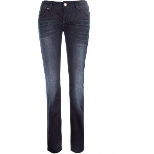 Only Prince Aisha Low Jeans Slim Fit Schwarz