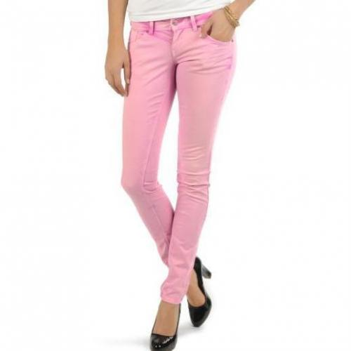 Only Skinny Low Coral Nora Jeans