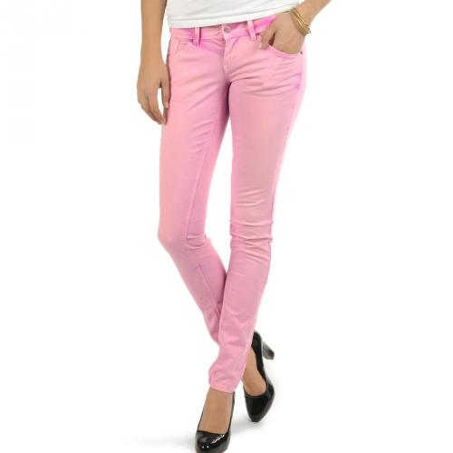 Only Skinny Low Coral Nora Jeans, denim/stone wash