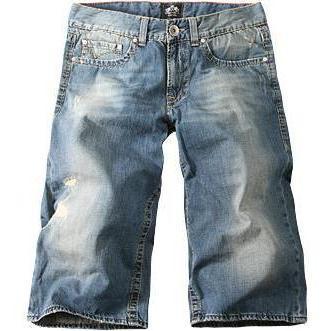 Otto Kern Jeans-Bermuda Roy denim 7823/820/468