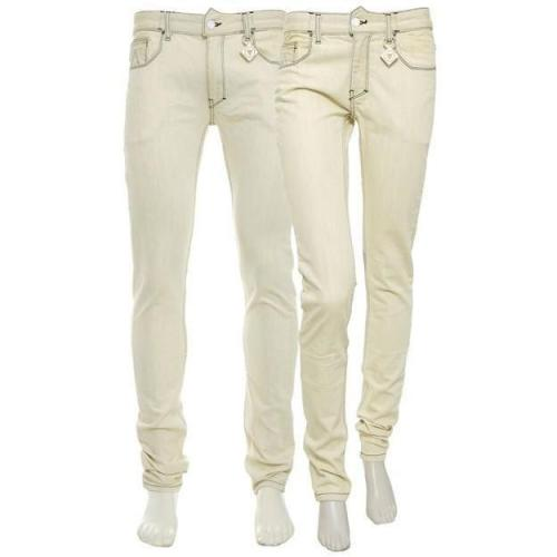 Patrick Mohr Jeans Quadrangle Chives light-yellow