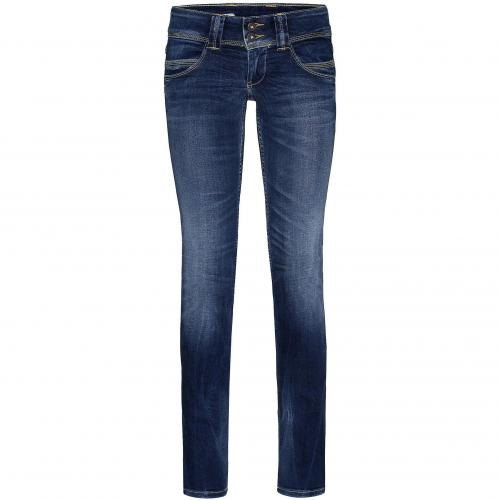 Pepe Jeans Damen Jeans Venus Q19 Blue Washed