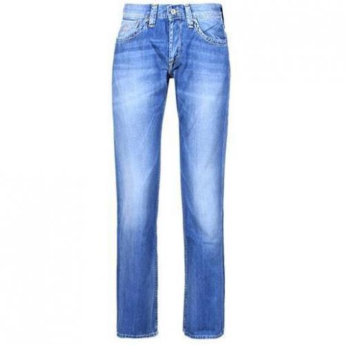 Pepe Jeans - Hüftjeans Kingston B19 Blaue Waschung