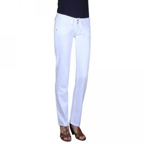 Pepe Jeans - Hüftjeans Modell Venus E75 Farbe Weiß