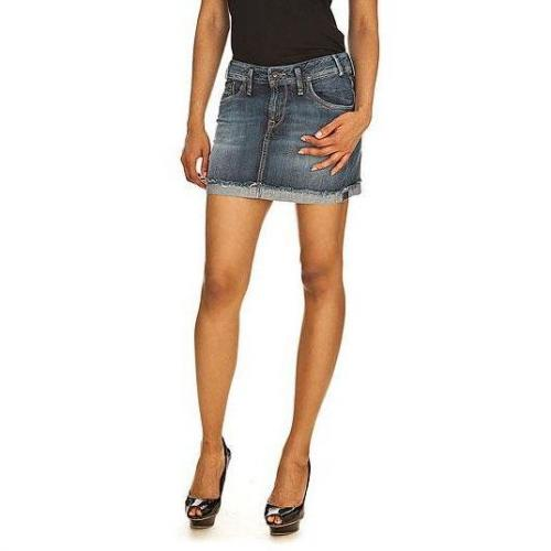 Pepe Jeans - Rock Modell Charlie Skirt Farbe Blaue Waschung