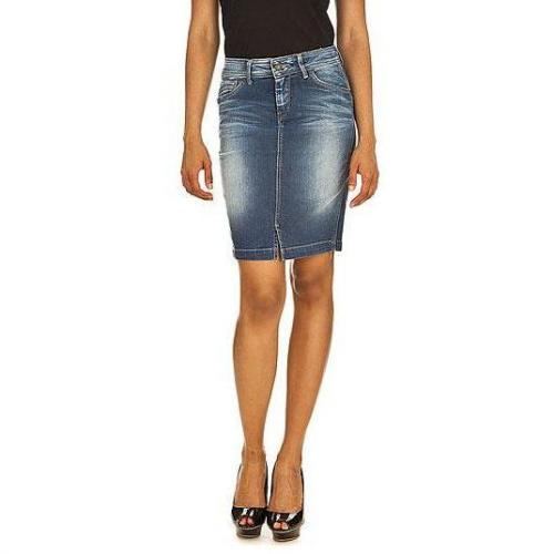 Pepe Jeans - Rock Modell Joule Skirt Farbe Blaue Waschung
