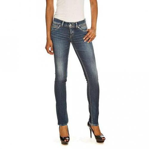 Pepe Jeans - Slim Modell New Brooke Q17 Farbe Blaue Waschung