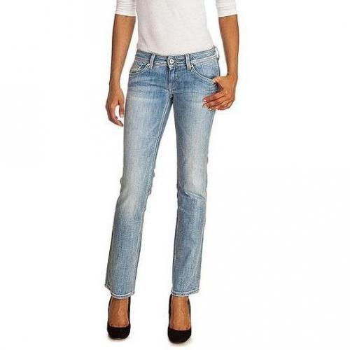 Pepe Jeans - Slim Modell Ruby E29 Farbe Helle Waschung