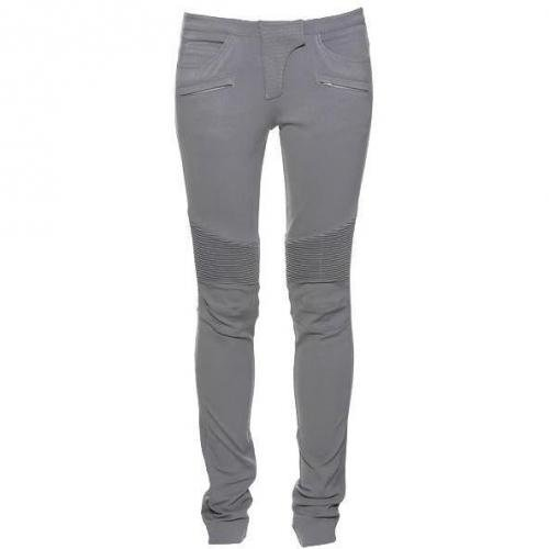 Philipp Plein Couture Pants Biker Grey