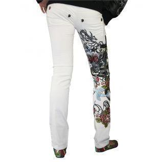 Philipp Plein Damen Jeans Lovely Birds