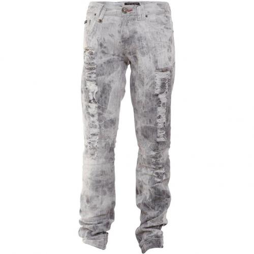 Philipp Plein Jeans Fight Grey