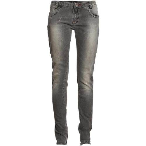 Philipp Plein Jeans Normal Skullicious Rock Diamond