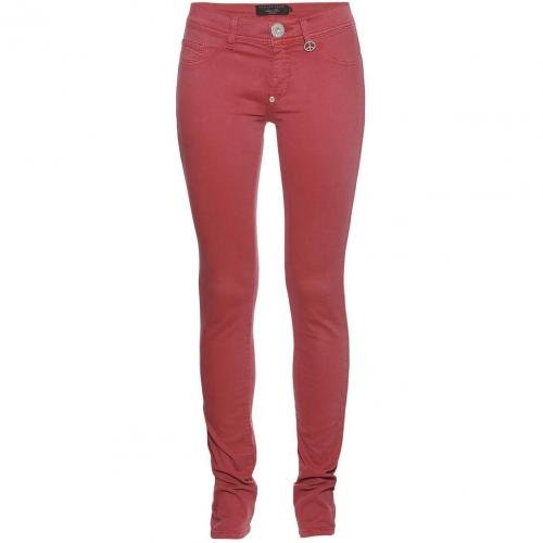 Philipp Plein Jeggings Candy Red