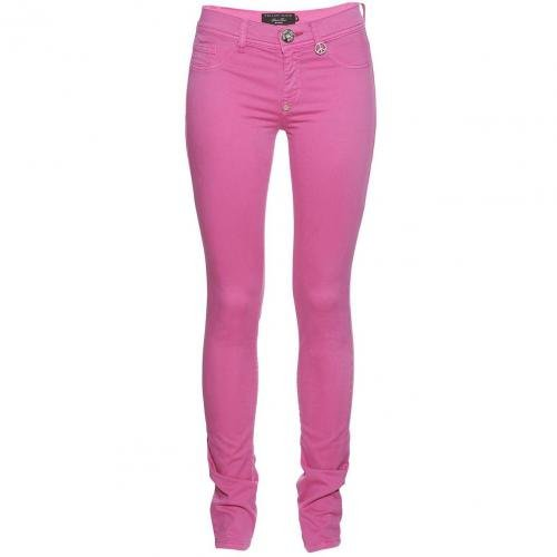 Philipp Plein Jeggings Candy Rosa / Pink