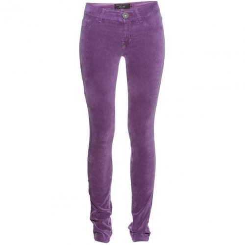 Philipp Plein Jeggings Skull Candy Plum / Lila