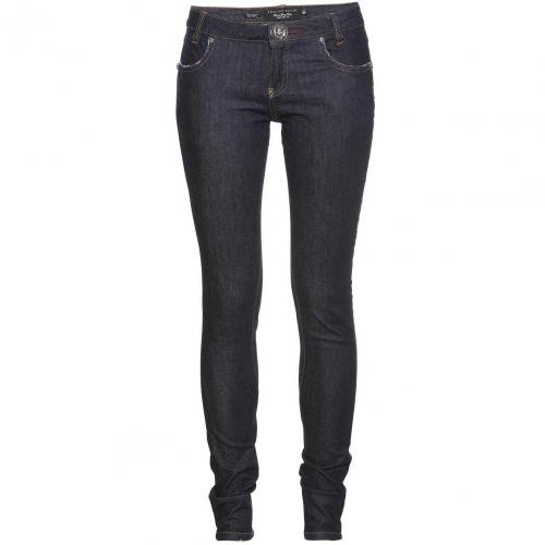 Philipp Plein Super Slim Fit Gossip Blue Moon