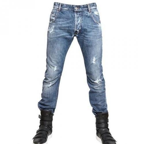 Pierre Balmain - 18Cm Engineered Denim Jeans
