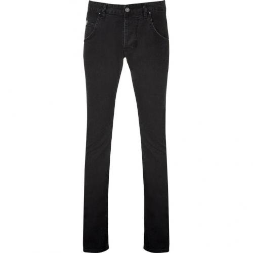 Pierre Balmain Black Engineered Jeans