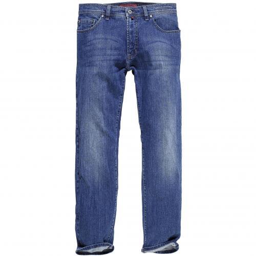 Pierre Cardin Herren Jeans Deauville Washed Blue