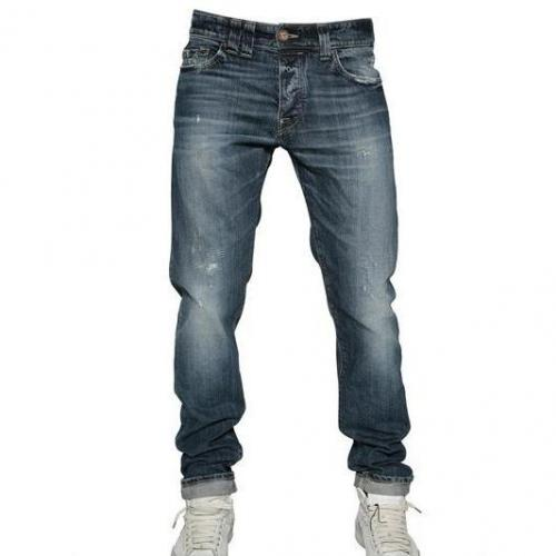 Protocycle - Reguläre Passform Denim Stretch Jeans