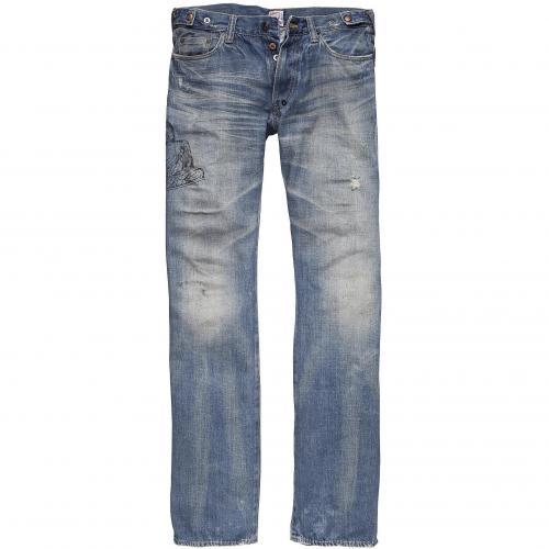 Prps Herren Jeans Barracuda Medium Blue
