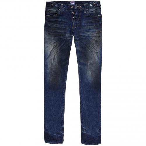 Prps Herren Jeans Darkblue Washed Very Dark