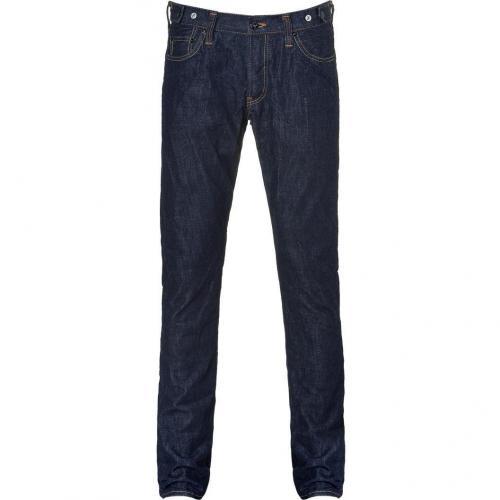 Prps Washed Blue Five Pocket Fury Jeans