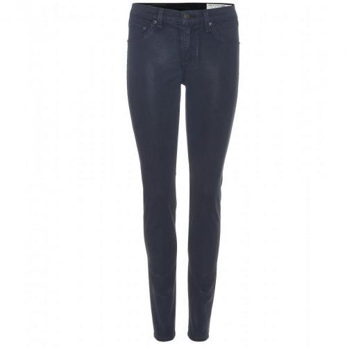 Rag & Bone Beschichtete Skinny Jeans