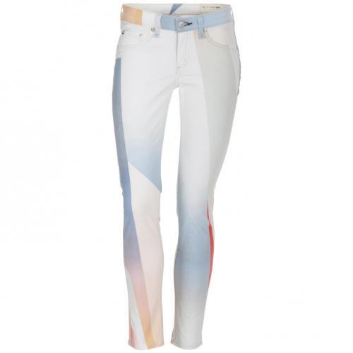 Rag&Bone Hose goetz print legging white