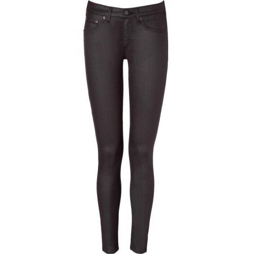 Rag & Bone Obsidian Coated Stretch Leggings