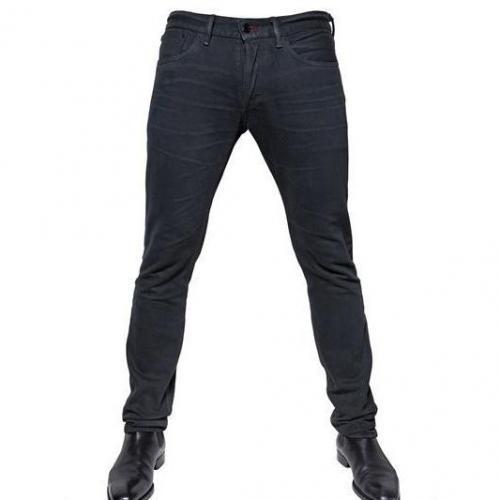 Ralph Lauren Black Label - 18Cm Slim Washed Destroyed Denim Jeans