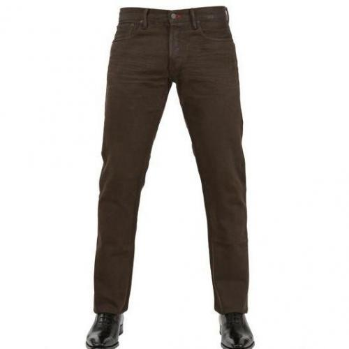 Ralph Lauren Black Label - 20Cm Dirty Wash Straight Fit Jeans