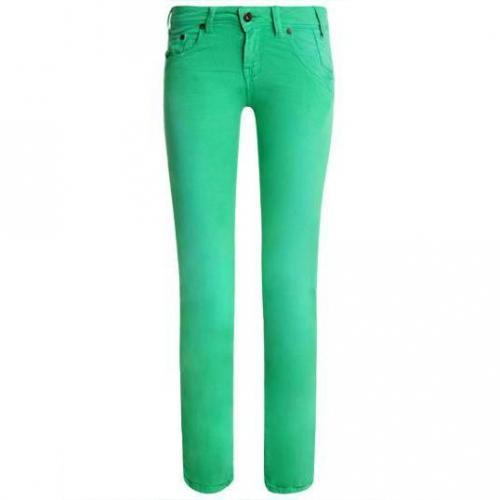 Redsoul - Hüftjeans Modell Patty Green Farbe Grün