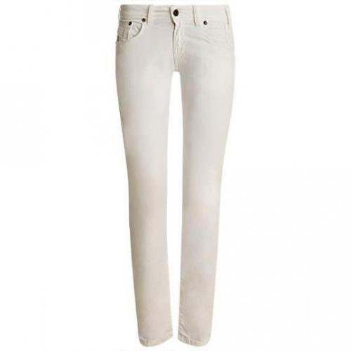 Redsoul - Hüftjeans Modell Patty White Farbe Weiß