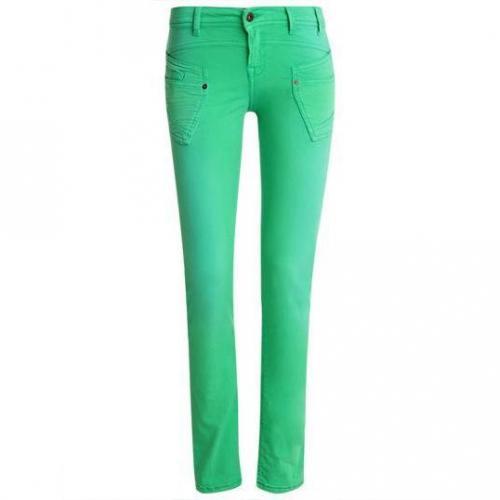 Redsoul - Hüftjeans Modell Penny Green Farbe Grün