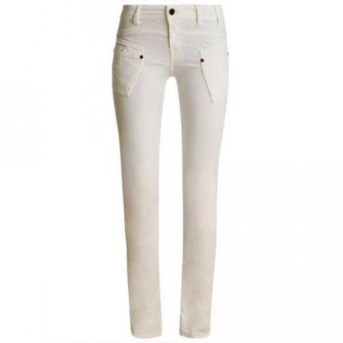 Redsoul - Hüftjeans Modell Penny White Farbe Weiß