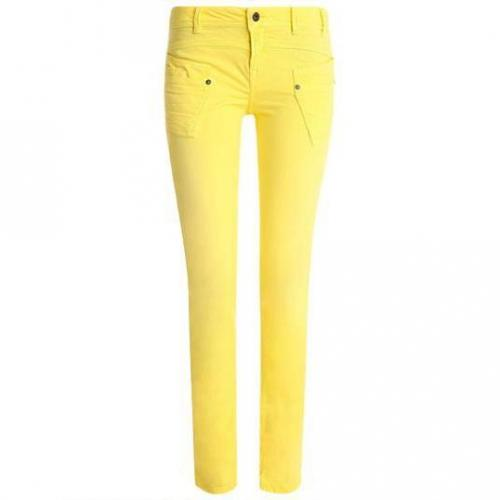 Redsoul - Hüftjeans Modell Penny Yelow Farbe Gelb