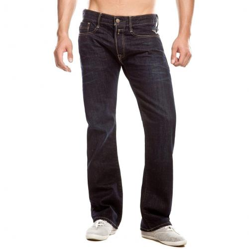 Replay Billstrong Jeans Straight Fit Dark Used