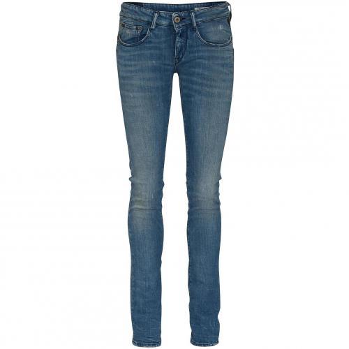 Replay Damen Jeans Radixes Blue 010