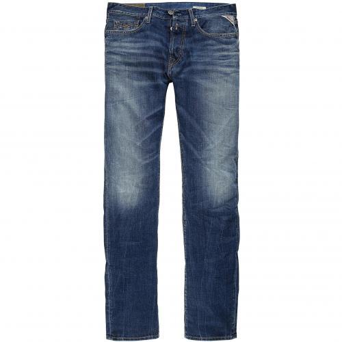 Replay Herren Jeans Flat Finish Denim