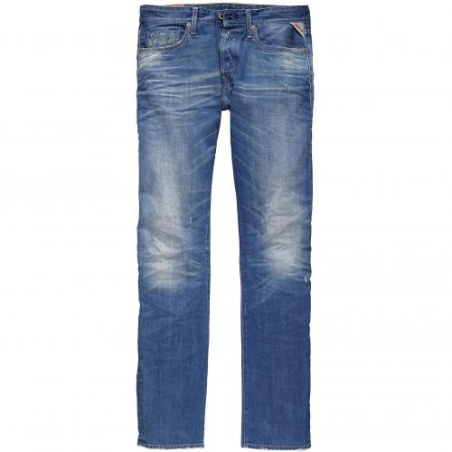 Replay Herren Jeans Jennon Electric Blue