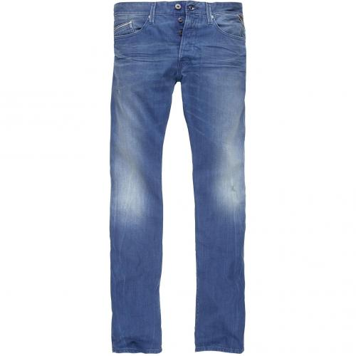 Replay Herren Jeans Waitom Mid Weight Denim