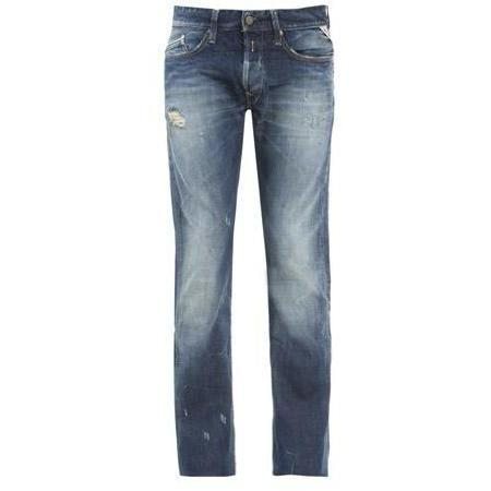 Replay - Hüftjeans Waitom 118915 Blau