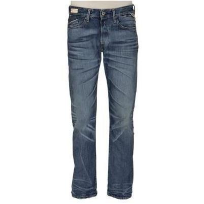 Replay Jeans Waitom Lasered Dark Blue