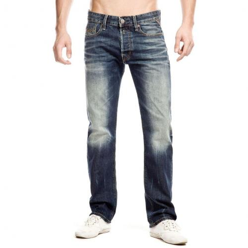 Replay Jennon Jeans Slim Fit Dark Used