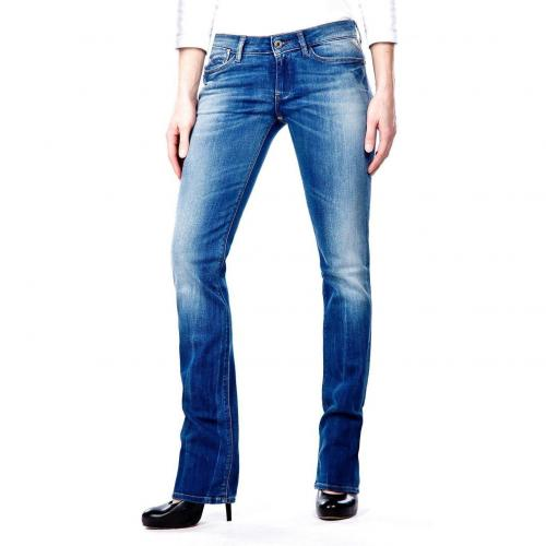 Replay Jennpez Jeans Straight Fit Stone Used